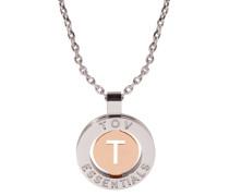 Iniziali Silver/Rose gold Armband 1806.003.004.T