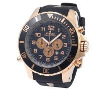 Chrono Rose Gold Series Uhr KYC-RG-001-48