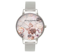 Big Dial Flower Uhr OB16CS10