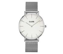 La Boheme Mesh Silver/White Uhr CL18105