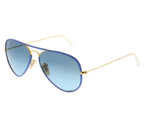 Aviator Full Color RB3025JM 001/4M Sonnenbrille