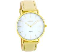 Vintage Braun/Weiß Uhr C7762 ( mm)