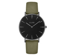 La Boheme Full Black/Olive Green Uhr CL18502