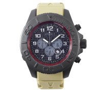 Chronograph Stealth Black Uhr KY.ST.-003, Chronograph Stealth Safari Green Uhr KY.ST.-003