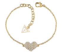 Crystal Heart Armband UBB51489