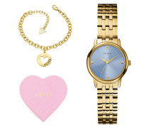 Giftset - Uhr & Armband - Golden 92754063
