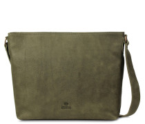 Core Medium Hand Buffed Leather Olive Crossbody 2620100057003-M
