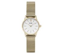 La Vedette Gold/White Uhr CL50007