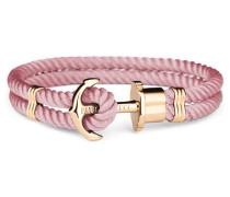 Phreps Anchor Gold Nylon Aurora Armband PH-PH-N-G-A (Länge: 20.00 cm)