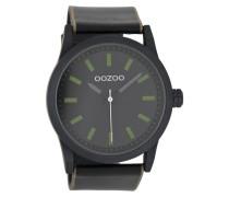 Timepieces Uhr Schwarz/Grun C7039