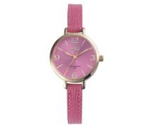 Jacky Coral Pink/Gold Uhr JA-08