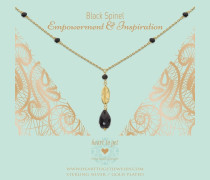 Classics Black Spinel Kette N317GCFB16G