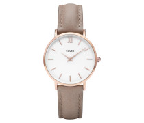 Minuit Rose gold/Hazelnut Uhr CL30043