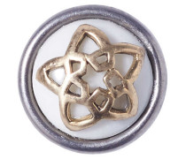 Petite Apple Star Pentagram White Chunk CPRN-9027-01