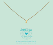 Heart For Initials Letter J Gold Charm L151INJ13G