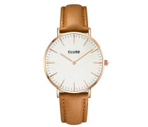 La Boheme Rose Gold White/Caramel Uhr CL18011
