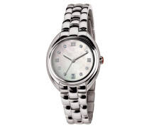 Claridge Bracelet Weiß Dial Swarovski Uhr TW1587