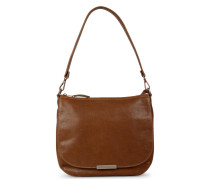 Trend Medium Grain Leather Brown Schultertasche 2320100073100-M