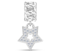 Jennifer Lopez Collection Rock Star Silver Charm 1391