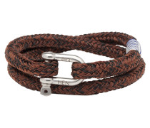 Salty Steve Black Brown Armband P10-90704-L (Länge: 19.50-20.00 cm)