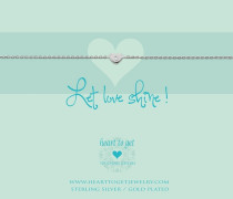 Let Love Shine! Armband B197HEZ14S