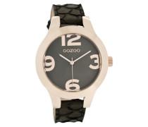 Timepieces Schwarz Snake Uhr C7599