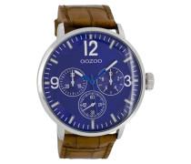 Timepieces Uhr Braun/Blau C7047
