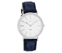Vintage Uhr Blau C7715