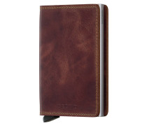 Slimwallet Vintage Brown Portemonnaie S-SV-Brown