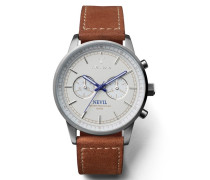 Ivory Nevil Brown Uhr NEST112SC010215