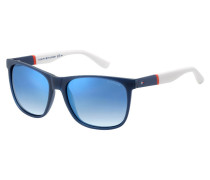Sonnenbrille Blue/Red White TH1281/S FMC