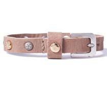 Petite Nubuck Studs Camel Armband WPCS-9076-71-M