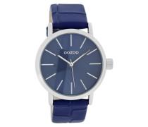 Timepieces Blau Croco Uhr C7572