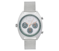 Maxwell Silver/Green Uhr MX-06