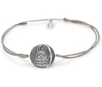 Buddha Grey Armband 43003G (Verstellbar: 16.50-19.00 cm)