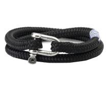 Salty Steve Black Armband P10-90000 (Länge: 17.50-18.00 cm)