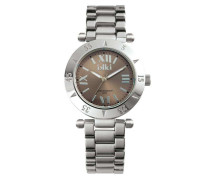 Daisy Silber/Taupe Uhr (Small) D-4
