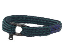 Whiskey Willy Navy Petrol Armband P16-63522-L (Länge: 19.50-20.00 cm)