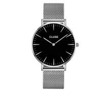 La Boheme Mesh Silver/Black Uhr CL18106