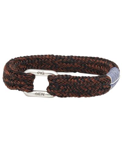 Limp Lee Black Brown Armband P18-90704-M (Länge: 17.50-18.00 cm)