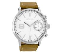 Timepieces Braun/Weiß Uhr C8580
