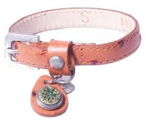 Petite Dot Print Cognac Armband WPCS-9078-88-M