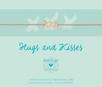 Hugs & Kisses Rose Armband B277XXX16R