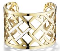 Pierced Open Cuff Armband TJ2700713