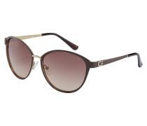 Sonnenbrille Matte Dark Brown GU74425849F