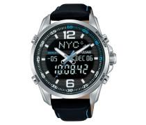 Leder Herren Uhr PZ4005X1