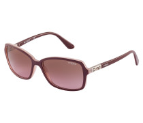 Sonnenbrille Top Bordeaux/Pink Trans VO5031S 238714