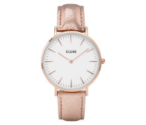 La Boheme Rose Gold White/Rose Gold Metallic Uhr CL18030