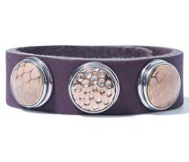 Classic Skinny Pink Shadow Armband WCS-050-76-S