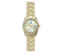 Colors IC3 Gold/Blue Uhr (Small)